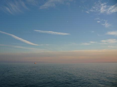 Mirant cap al sud des de les illes.