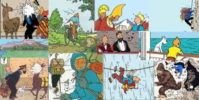 Tintin composition