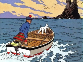 Tintin-L'illa negra