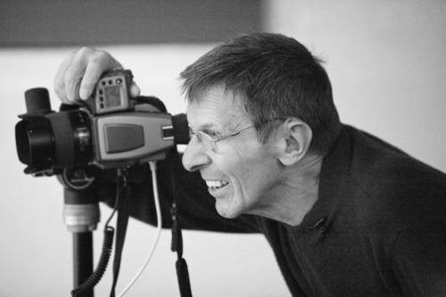 Leonard Nimoy photographer